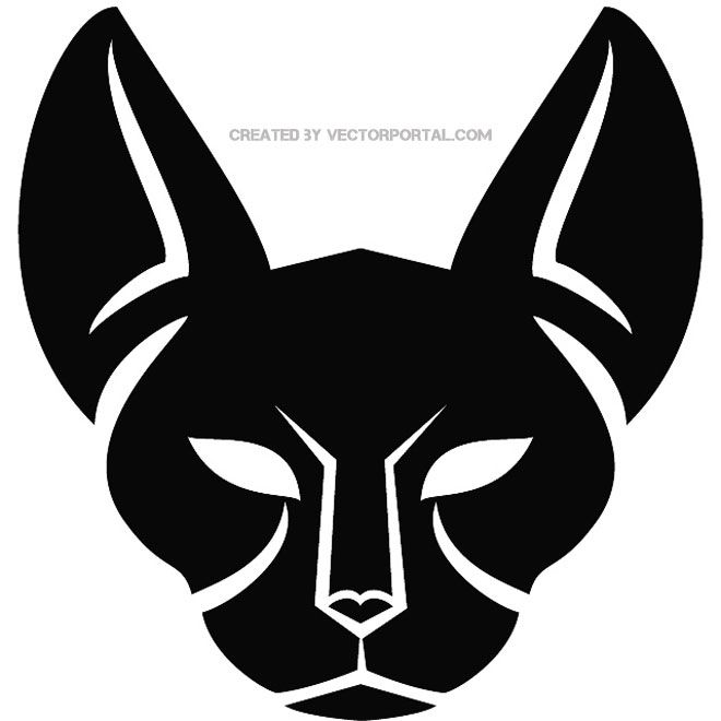 vector image of a cat. | animal vectors | pinterest