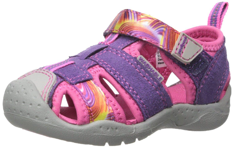 d5832608de9d pediped Sahara Flex Water Sandal (Toddler Little Kid) -- Wow! I love this.  Check it out now!   Girls sandals
