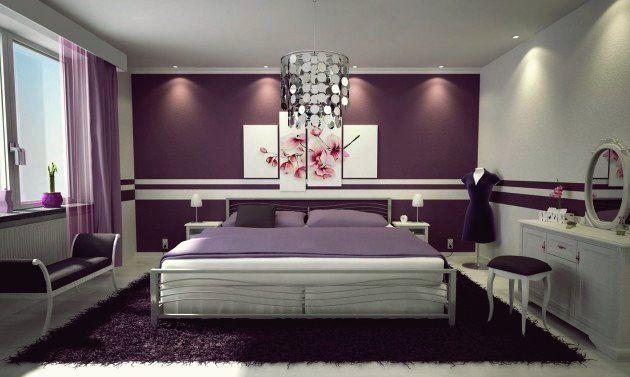 Lila in Ihrem Schlafzimmer - 10 fantastische Ideen, 2020 ...