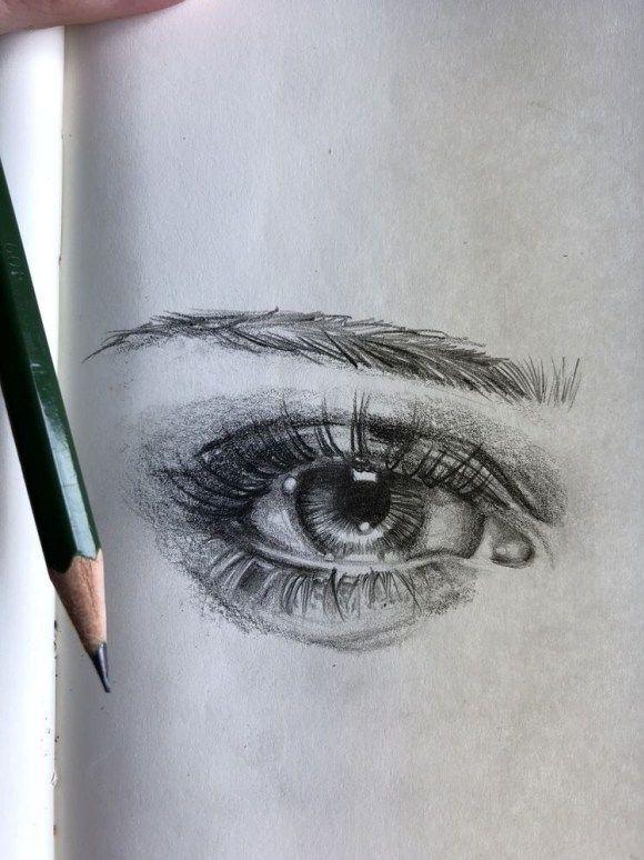 20 Amazing Eye Drawing Tutorials & Ideas