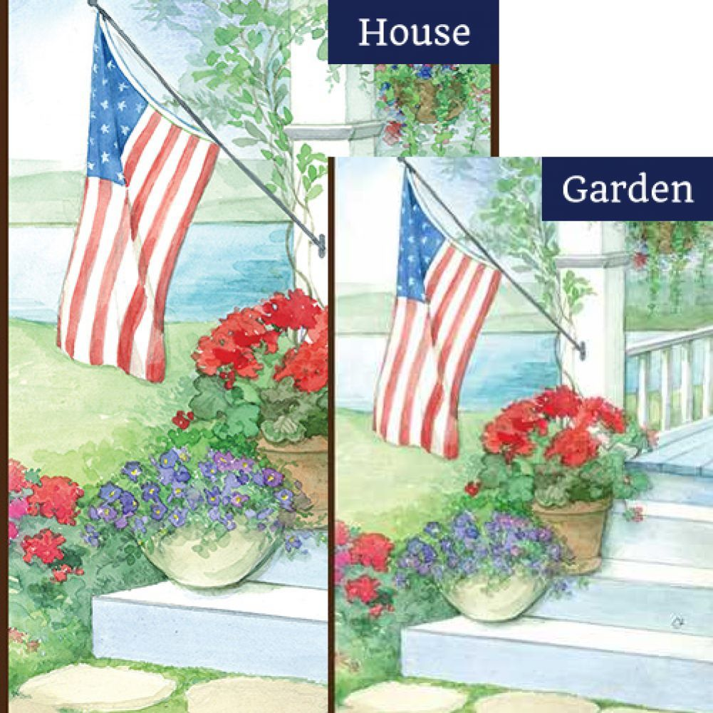 About The Set This Decorative Flags Set Includes A Garden Flag