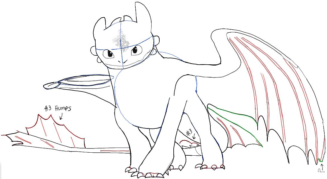 how to draw toothless met afbeeldingen kleurplaten