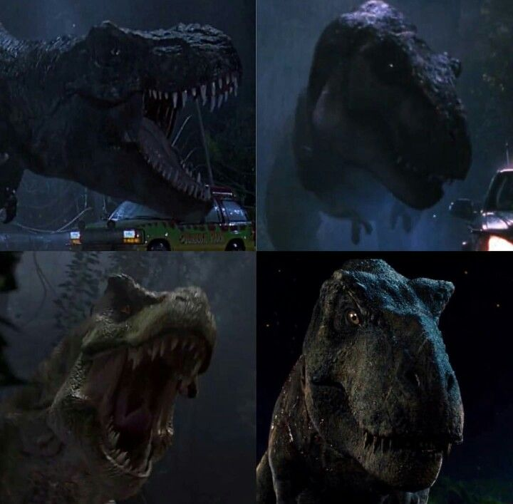 The Rex's Of Jurassic Park Series