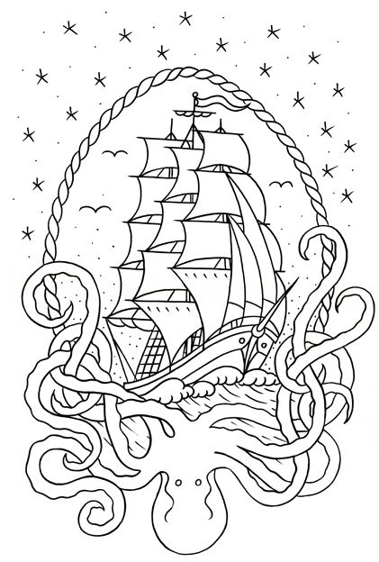 Drawing for Yarr Exhibiton | Design & Art | Pinterest ...
