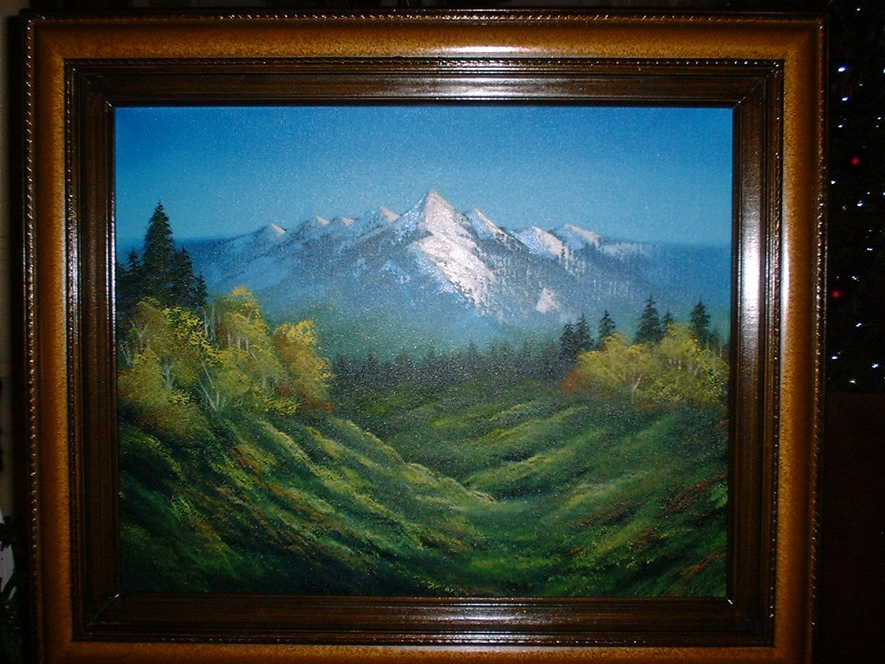 16X20 Oil canvas - Bob Ross technique. For sale with or without ...
