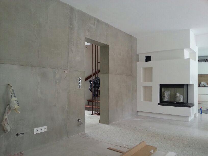 beton cire oberflächen in beton look: november 2013 | wohnen, Innenarchitektur ideen