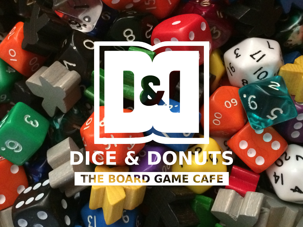 Dice & Donuts The Board Game Cafe in Lancashire! project