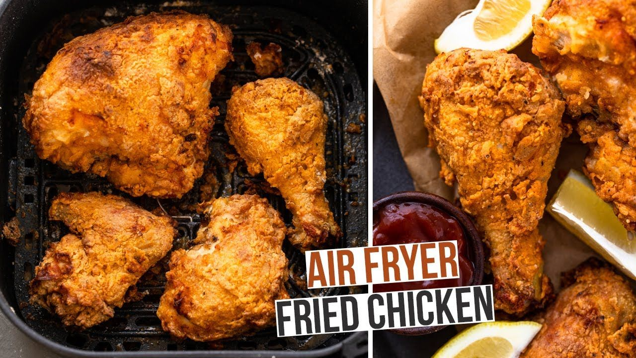 The Best Air Fryer Fried Chicken In 2020 Air Fryer Dinner Recipes Air Fryer Recipes Healthy Air Fryer Recipes Easy