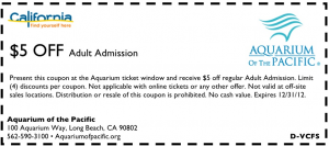 photograph about Aquarium of the Pacific Coupons Printable named No cost Aquarium of the Pacific Coupon codes - Ideal Absolutely free Things Expert