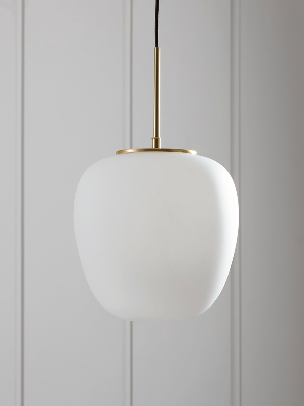 Frosted Glass Drop Pendant Modern ceiling light, Ceiling