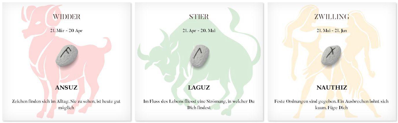 Runen Tageshoroskop 8.10.2016 #Sternzeichen #Runen #Horoskope #widder #stier #zwilling