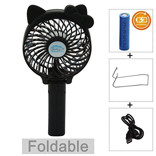 Portable Usb Mini Cooling Fan With Metal Clip For Home Office