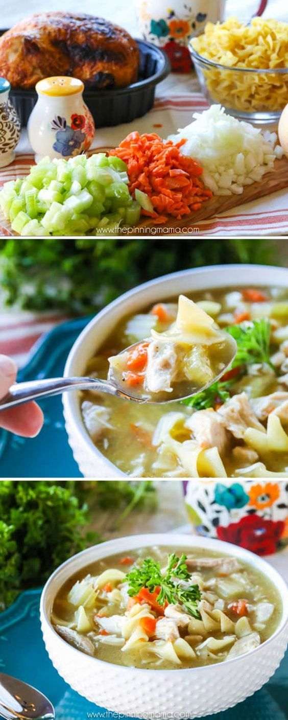 seriously the best homemade chicken noodle soup you will