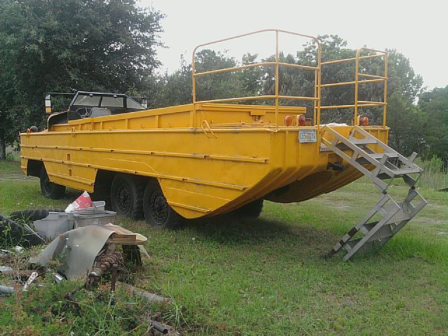 1945 Gmc Dukw For Sale St Augustine Florida Large Trucks