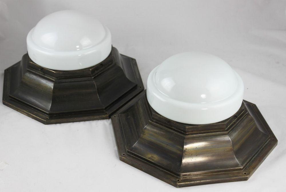 Plafoniere Industrial Style : Eisglas plafoniere deckenleuchte flammig rar kaiser eur