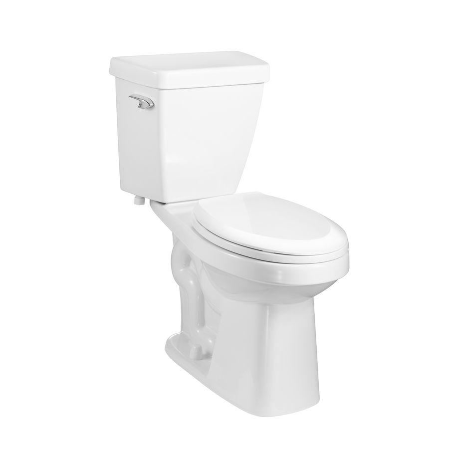 Aquasource High Efficiency 1 0 Gpf 3 79 Lpf White Watersense Round Chair Height 2 Piece Toilet