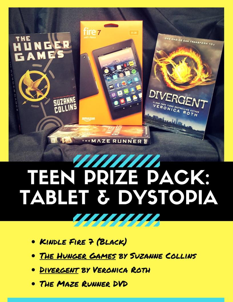 Summer reading program best prizes for teens