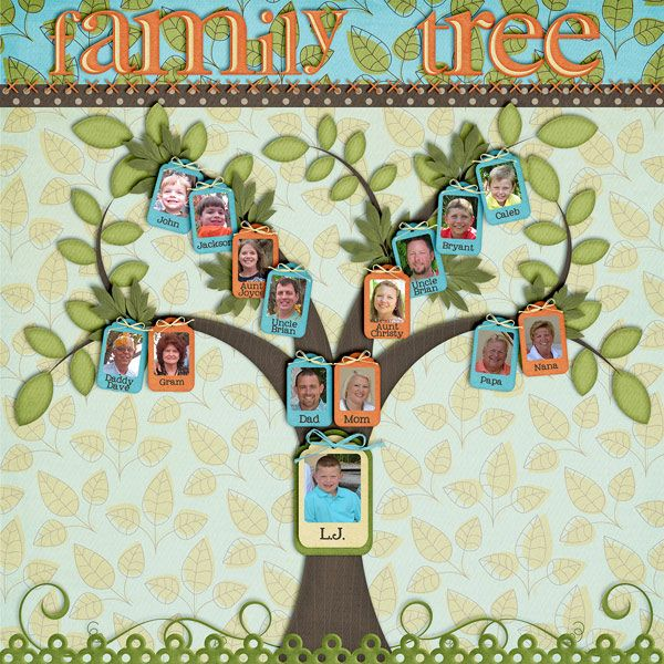 Family Tree But With Nana As The Tree Then Her Kids And Their