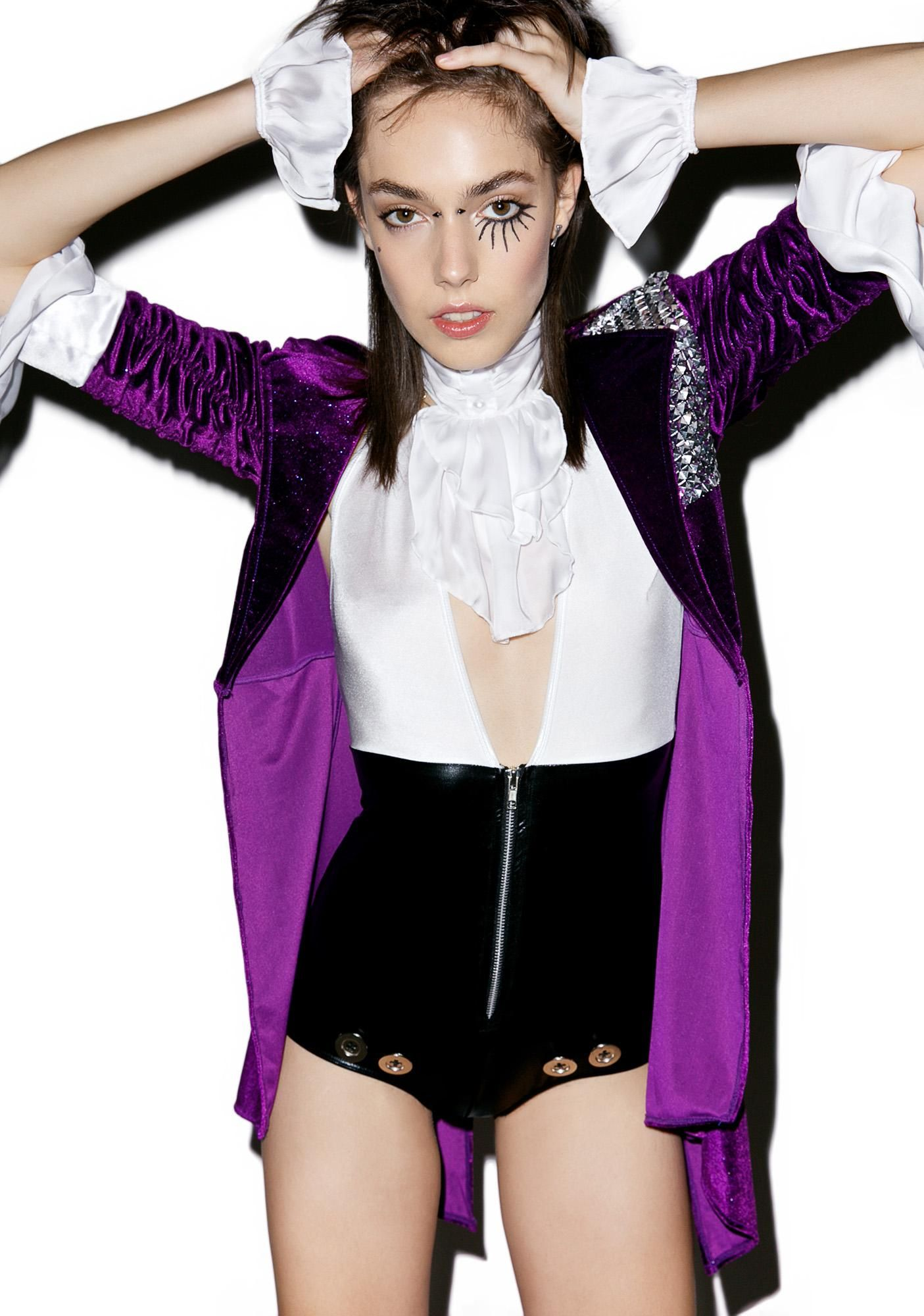 How to Make Your Own Prince Purple Rain Jacket | Rain costume ...