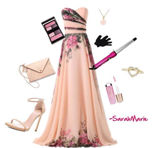 Very formal, maybe for prom -polyvore