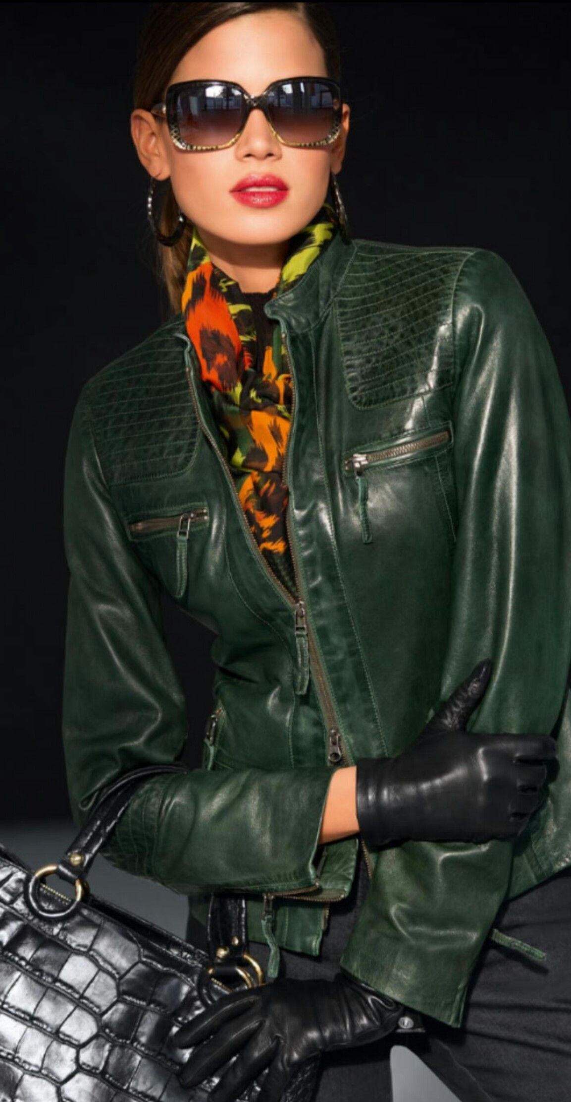 Madeline Leather Jacket ( Fall/Winter) Leather jacket
