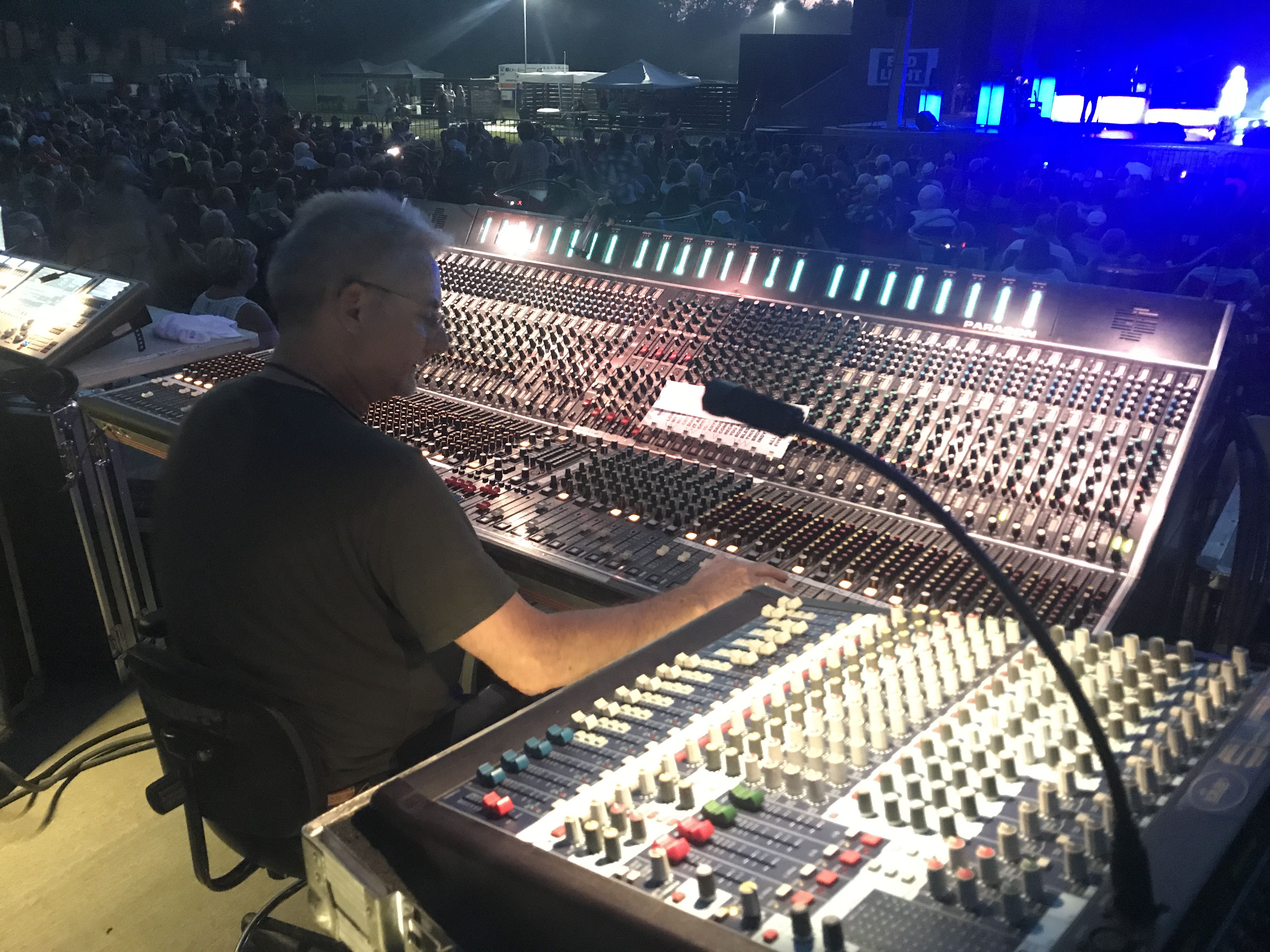 Mixing With Og Consoles Sound Stage Lights