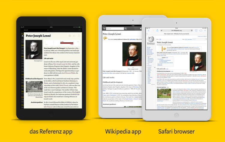 Wikipedia App Inspired By 109YearOld Encyclopedia Old