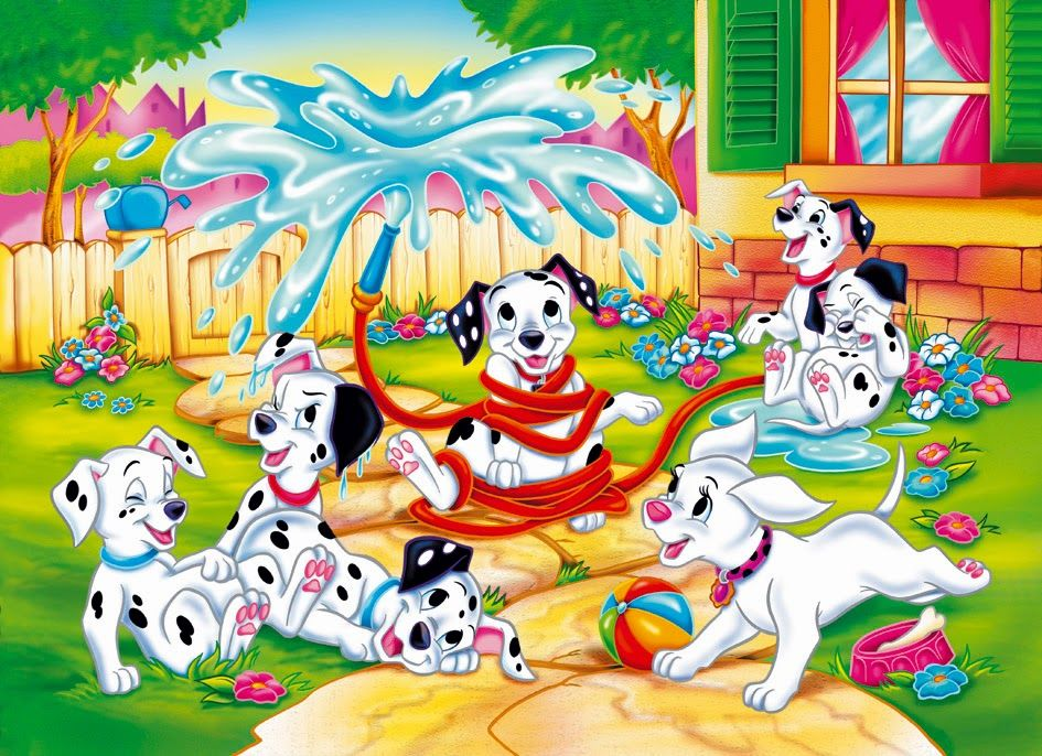 Beautiful Disney Cartoon 101 Dalmatians Wallpapers Free Download ...