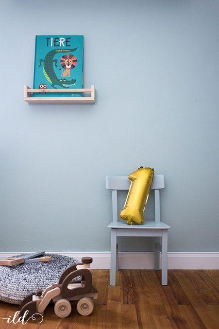 Geschenketipps zum 1. Geburtstag Wandfarbe kinderzimmer