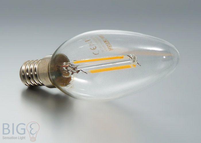 E14 #Filament Glühfaden LED Kerze Heitronic 2 Watt Die Rückkehr der ...