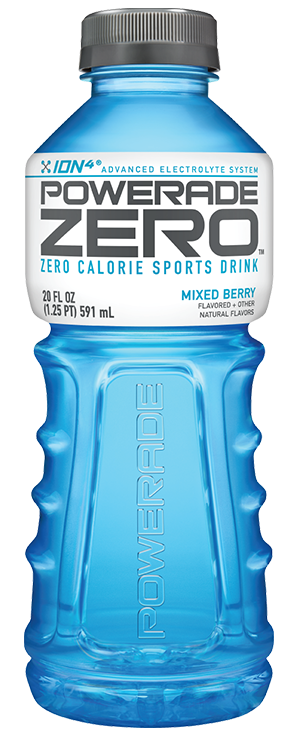 POWERADE zero Ingredients and Nutritional Information