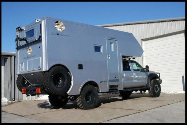 The new - 4x4 capable - UXV-550 is built on a Ford F-550