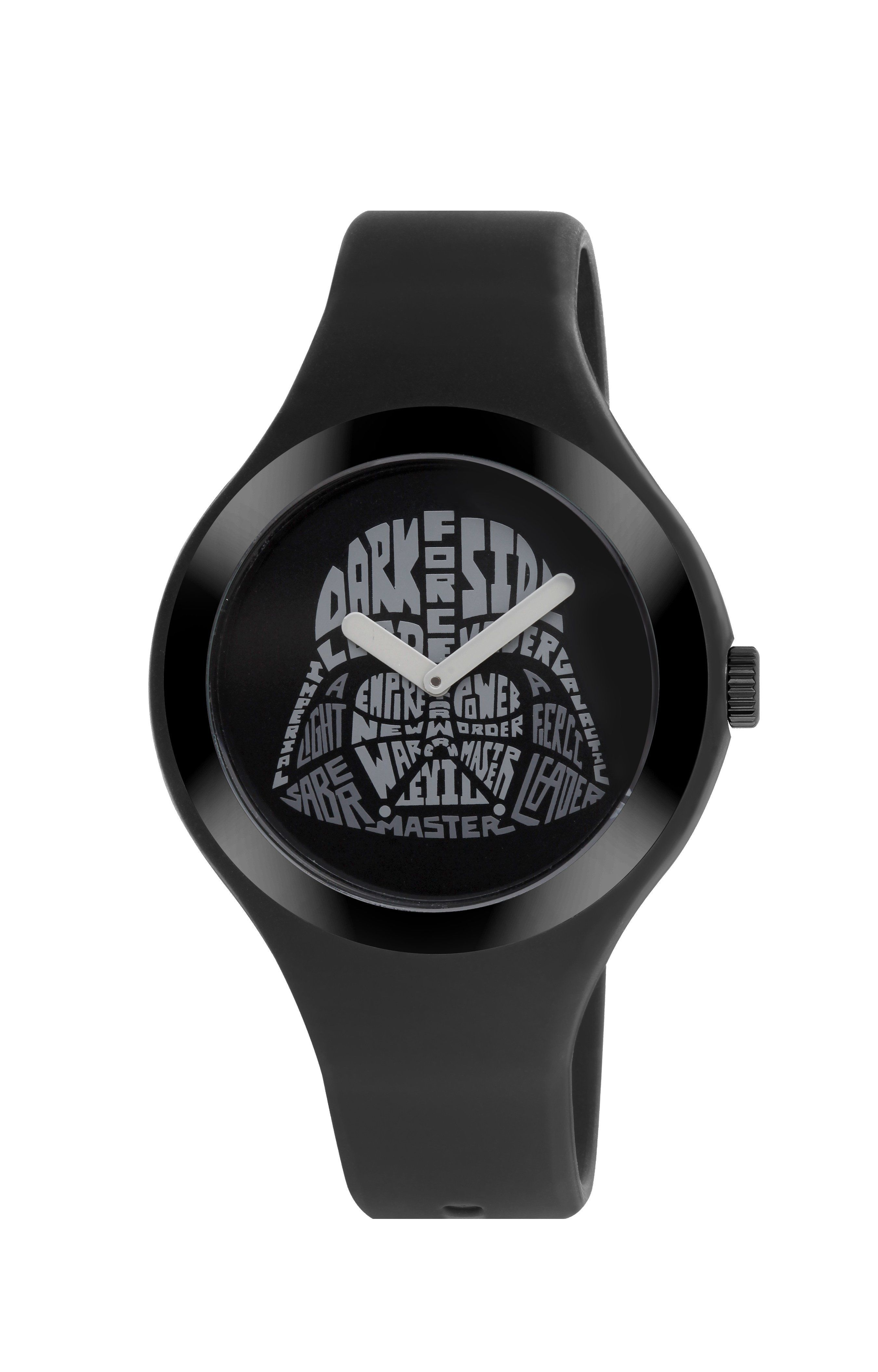 AM PM Star Wars Unisex Darth Vader Watch Black Silicone Strap SP161-U383 b828d346f4f