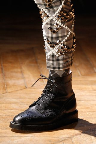 5875e4716 Thom Browne Fall 2012 Menswear All Black Fashion, Dope Fashion, Punk  Fashion, Rebel