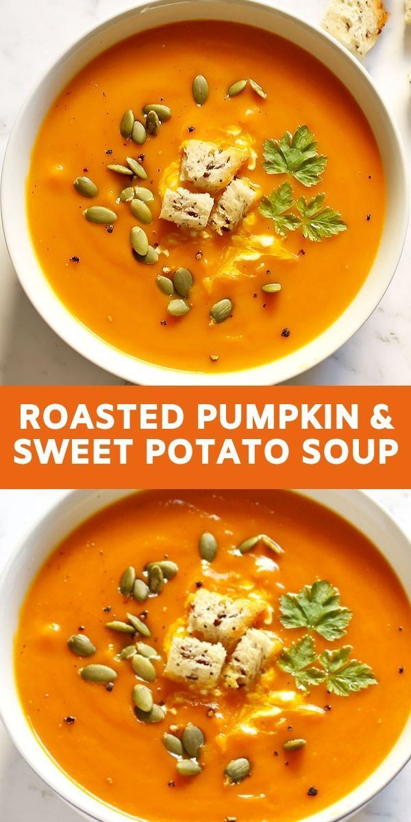 Pumpkin and Sweet Potato Soup - Cook It Real Good