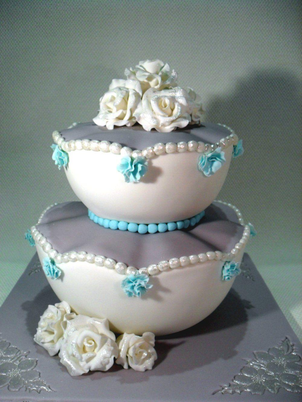 Colette a unique wedding cake een unieke bruidstaart wedding