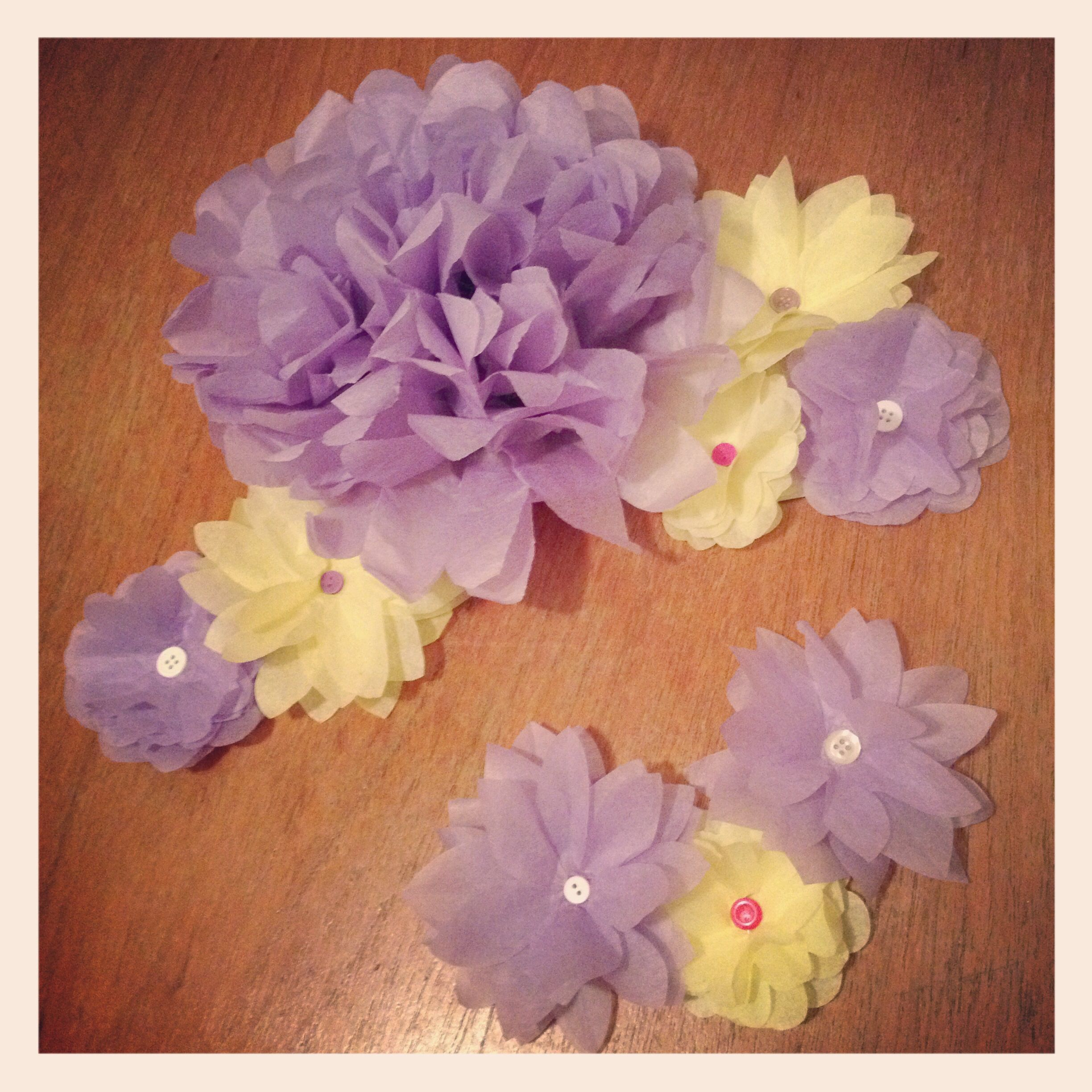 Diy Paper Flowers Easy But Time Consuming Pinterest Win