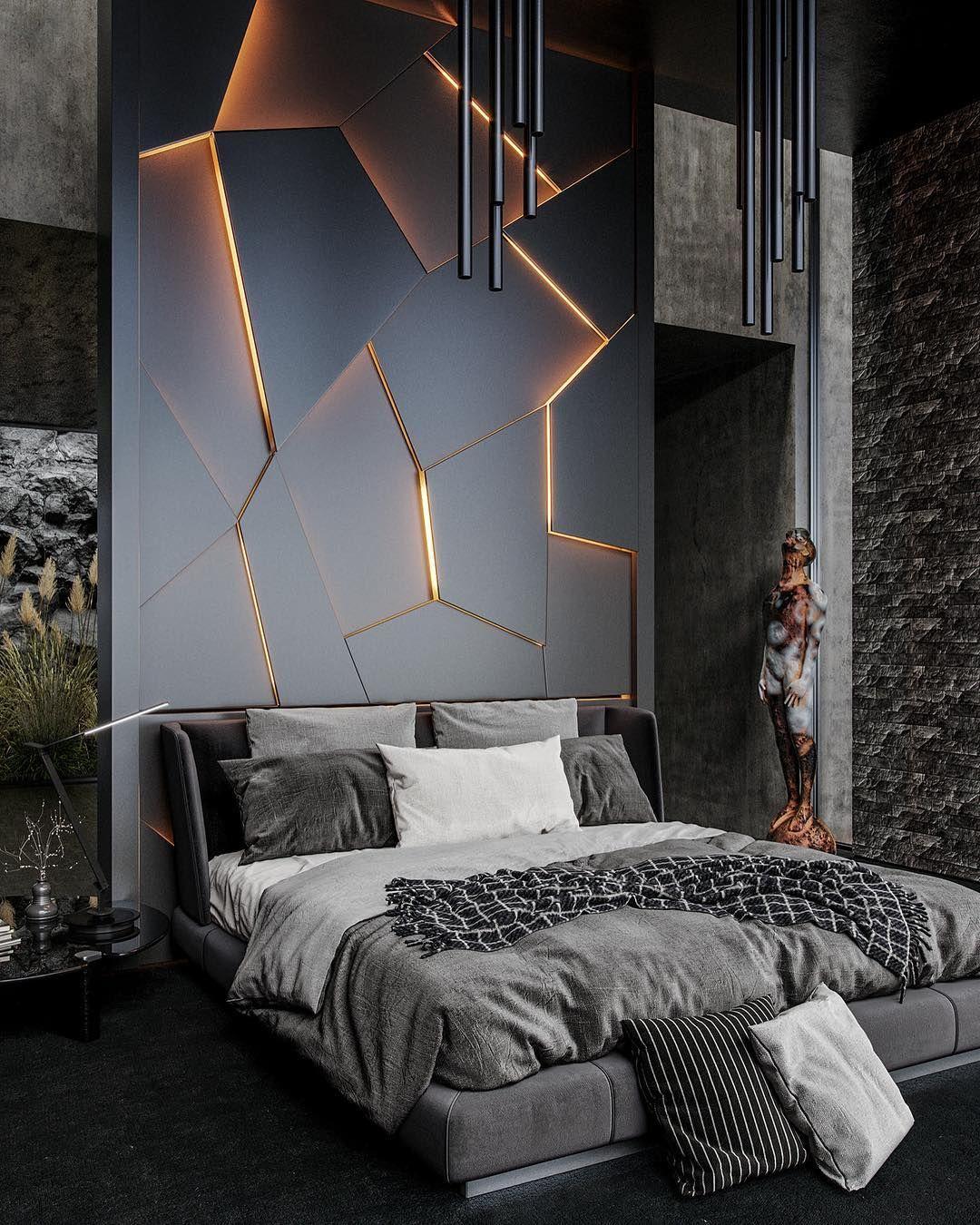 Unique Interior Design Projects Www Delightfull Eu Visit Us For Interior Design Ideas Best Luxury Bedroom Master Luxurious Bedrooms Luxury Bedroom Design