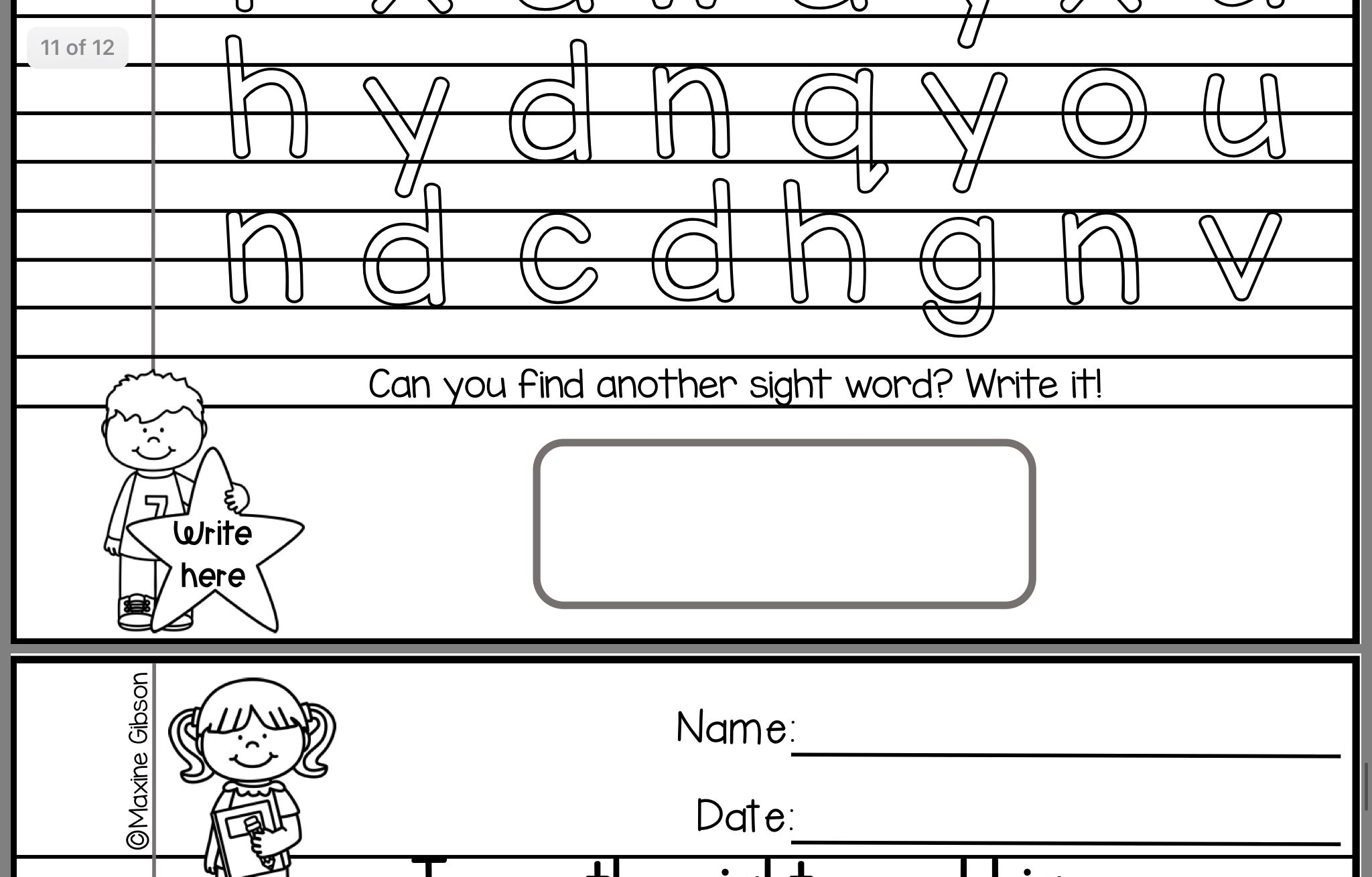 Pin By Kaitlin Moriarty On Sight Words