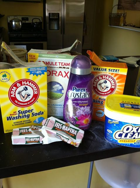 homemade dry laundry detergent with oxiclean | ... , Milkshakes and Textbooks: Homemade Laundry Detergent...Love it