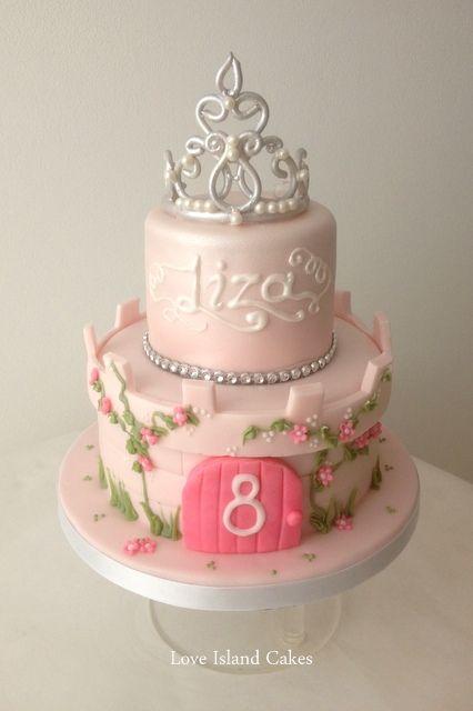 Princess Birthday cake sugar tiara crown