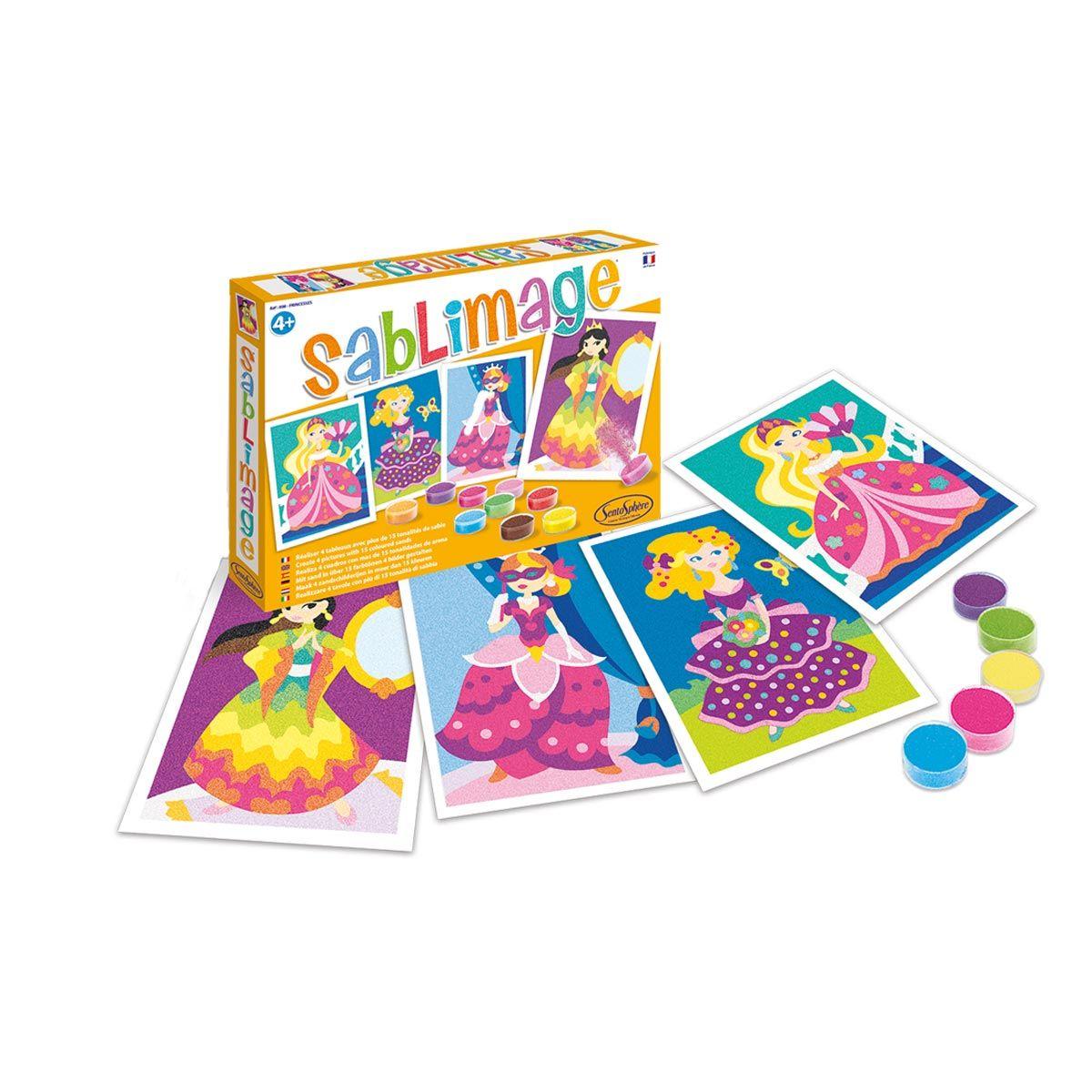 Sablimage Princesses Sentosphere Dessin Princesse Jeux Eveil Jeux Creatif