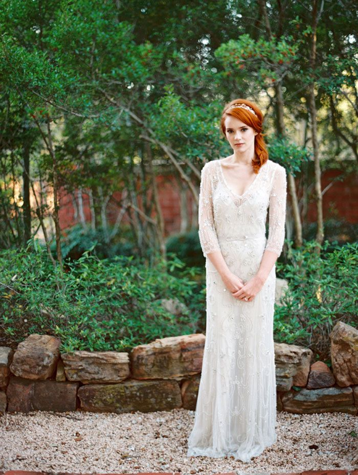 Vintage Inspired Wedding Dress | fabmood.com #vintage