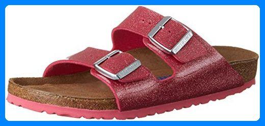 BIRKENSTOCK Classic Damen Arizona Birko-Flor Softfootbed Pantoletten, Pink (Magic Galaxy Bright Rose), 38 EU