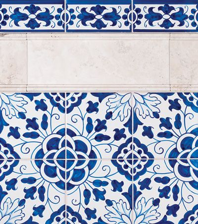 Miradouro Portuguese Ceramic Tiles Concept 6 Blue Mosaic Tile Blue Kitchen Tiles Blue White Decor