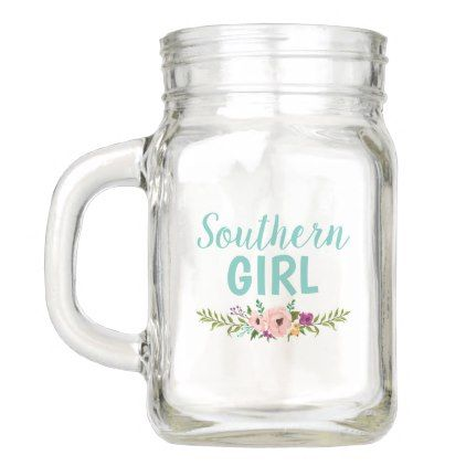 Mason Jar Southern Flowers Gifts Special Unique Diy Gift Idea
