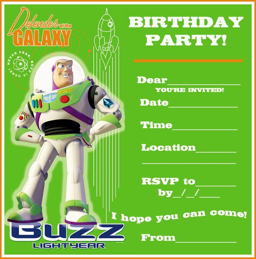 Get Free Printable Birthday Invitations For Boys Birthday Invitations Kids Birthday Party Invitations Printable Toy Story Birthday Party