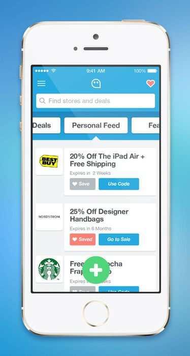 BluePromoCode coupon app: find coupon codes easily | App ... on App That Finds Promo Codes id=26829