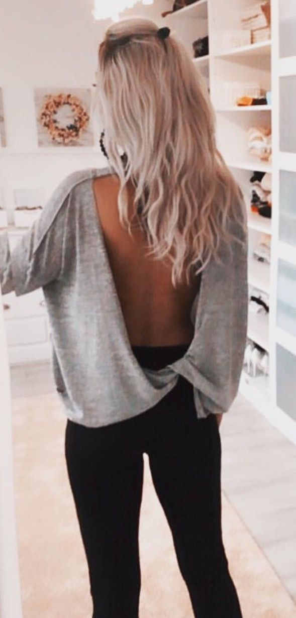 e964448e7d Pinterest     kaylalorayne Backless Shirt