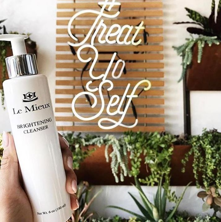 Make Sure You Treat Yourself And Your Skin Le Mieux Brightening Cleanser Makes That Possible It Cleanse With Images Brightening Cleanser Skin Cleanser Products Skin Care